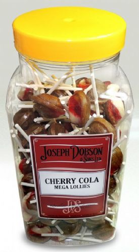 Joseph Dobson Cherry Cola Lolly